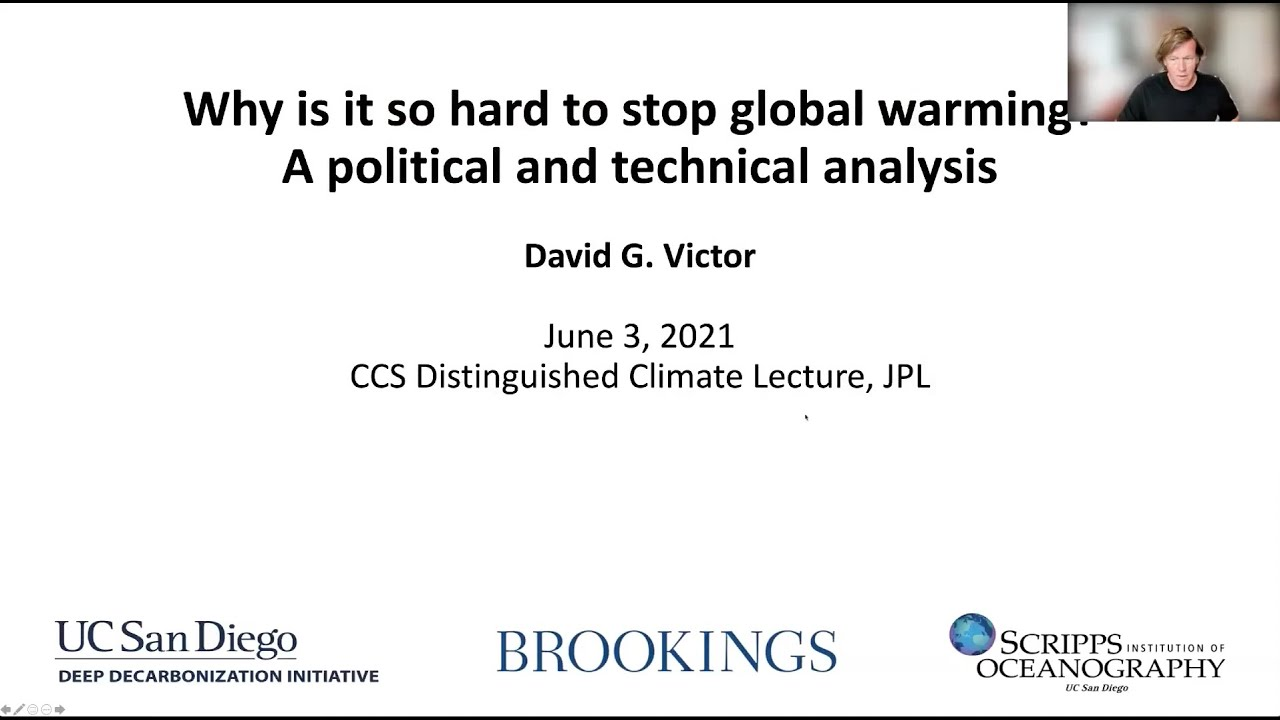 Why is it so hard to stop global warming? A political and technical analysis.