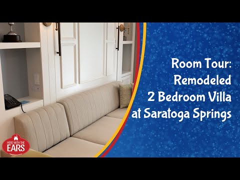 Saratoga Springs - Newly Remodeled 2 Bedroom Villa - Room Tour