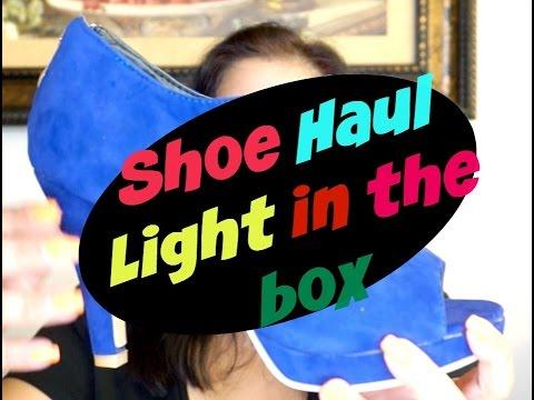 Shoe Haul - Lightinthebox.com | Online Shopping | Neves Lifestyle