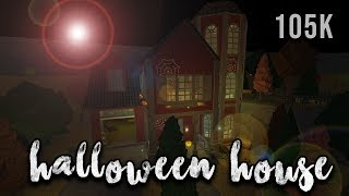 Roblox | Welcome to Bloxburg: Halloween House | Speedbuild