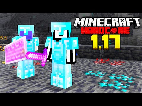 Can We Beat Minecraft Hardcore in 1.17? (New Cave Update) - LockDownLife