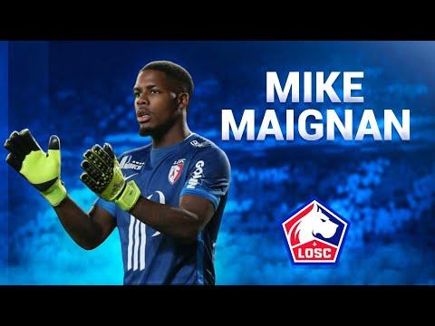 Mike Maignan ● Saves, Skills & Passes - 2017/2018 ● Lille OSC