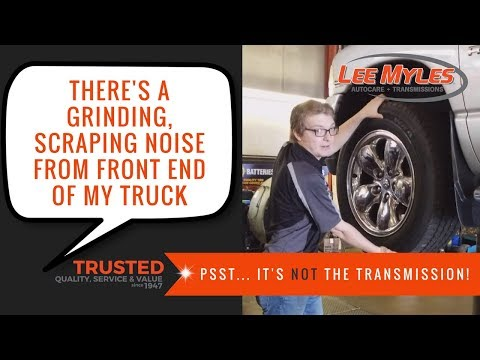 Your Car's Grinding, Scraping Noise From Front End