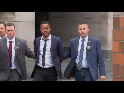 Don Stuck - Cuba Gooding Jr Arrives For Arraigned In Cuffs - New Charges