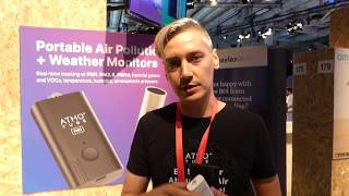 Atmotube портативный монитор качества воздуха - выставка IFA 2018