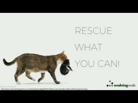 DrupalCon Baltimore 2017: Rescue Me: Recovering a sad, broken Drupal