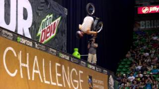 Dew Tour - Best BMX Tricks from Salt Lake City - Kyle Baldock Doubleflip, Steve McCann No-hand 900