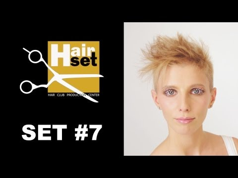 Hair Set #7 (креативное окрашивание, женская стрижка, кератиновое выпрямление - GB, RU)