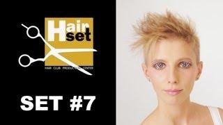 Hair Set #7 (креативное окрашивание, женская стрижка, кератиновое выпрямление - GB, RU)(Седьмой выпуск видео-журнала HAIR SET. 1. Креативное окрашивание волос техникой