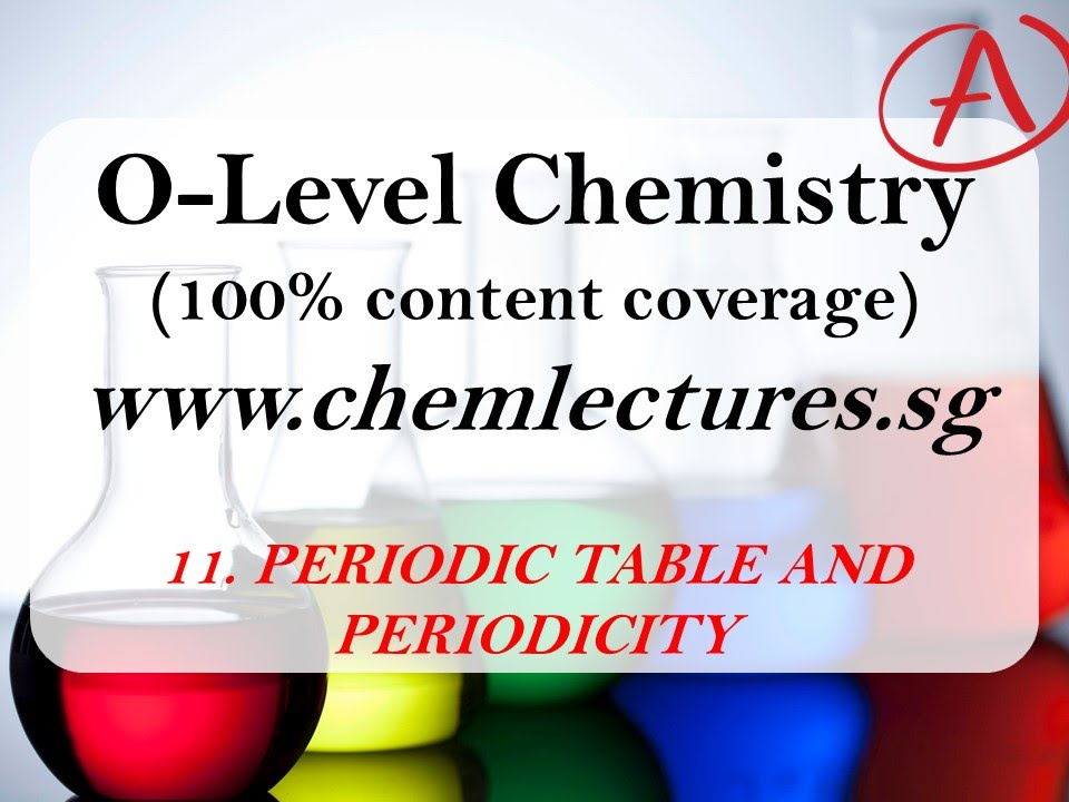 11th of 19 chapters periodic table and periodicity gce o level 11th of 19 chapters periodic table and periodicity gce o level chemistry lecture urtaz Images