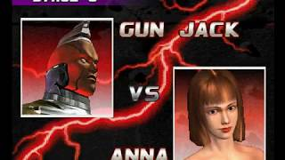 Tekken 3 ( PS1 ) - Gun Jack - Arcade Mode - Original Music ( Dec 27, 2017 ) thumbnail