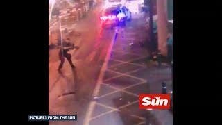 New footage emerges of London Bridge attack