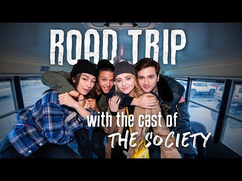 The Society Cast Takes a Road Trip | Netflix