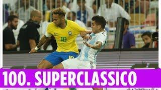 Brasilien spiegt beim 100. Superclasico | Brasilien - Argentinien 1:0