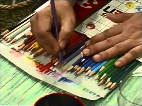 สอนสีไม้1-8(color pencil tutorial)ชุดที่1(episode1)