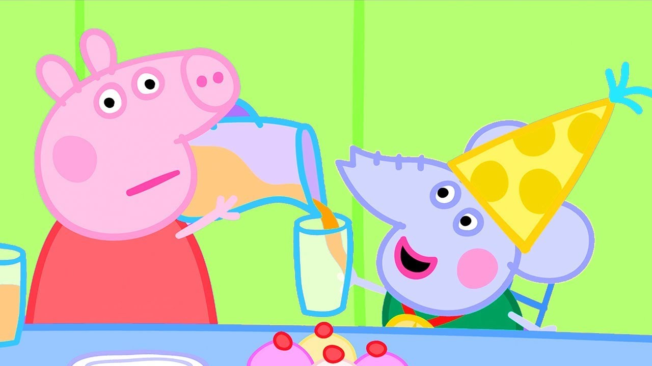 Download Peppa Pig Official Channel | Peppa Pig Helps Out at Edmond Elephant's Birthday Party