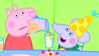 Peppa Pig Official Channel | Peppa Pig Helps Out at Edmond Elephant's Birthday Party
