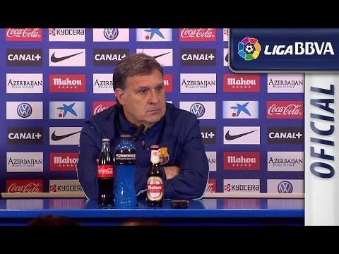 Rueda de Prensa de Tata Martino tras el Atlético de Madrid (0-0) FC Barcelona - HD