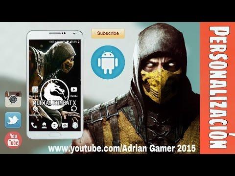 Personalización Estilo [Mortal Kombat X] 2015