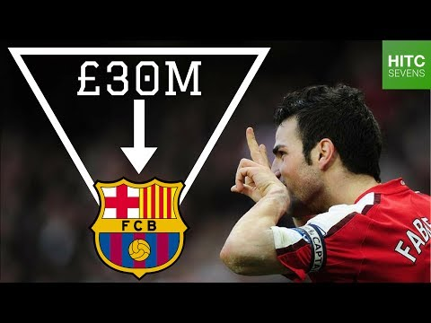 Top Seven Arsenal Players Sold By Arsene Wenger | HITC Sevens