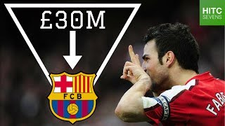 Top Seven Arsenal Players Sold By Arsene Wenger