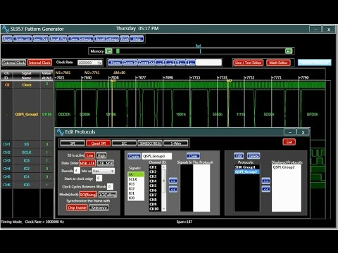 LP600 Logic Analyzer Pattern Generator Seriesиз YouTube · Длительность: 1 мин48 с