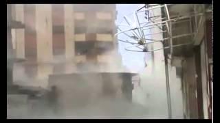 حمص قصف عنيف على جورة الشياح٨-٤-٢٠١٢