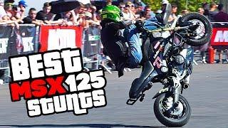 Best Stunts Honda GROM MSX125