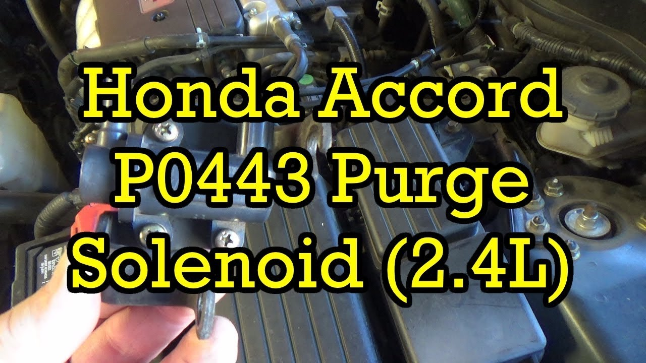 Honda Accord P0443 924 EVAP Purge Solenoid Tips and