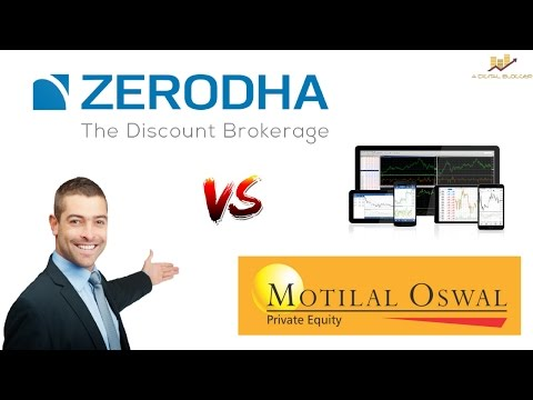 Zerodha vs Motilal Oswal - Stock Broker Comparison - Pricing