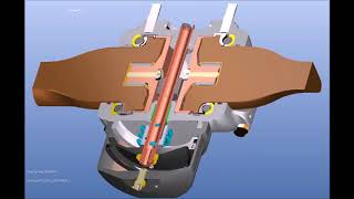Non feathering HC-C2YF series propeller hub - CAD Model