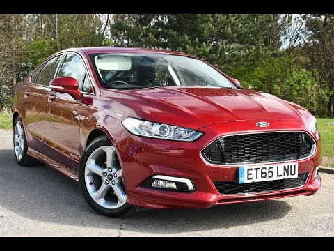 used ford mondeo 1 5 ecoboost titanium 5dr ruby red mica. Black Bedroom Furniture Sets. Home Design Ideas