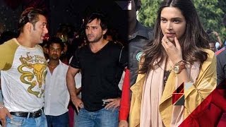 Salman Khan & Saif Ali Khan to turn business partners, Deepika Padukone wants to promote