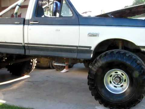 """Ford F 250 Lifted >> '87 Ford F-250 4x4 """"CODE BLUE"""" - Introduction - YouTube"""