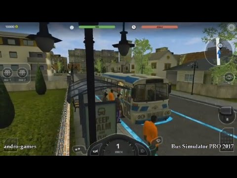 Bus Simulator PRO 2017 (by Mageeks Apps & Games) - simulation game for android and iOS - gameplay.