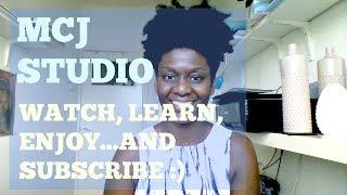 MCJ STUDIO| WATCH ENJOY...AND SUBSCRIBE !