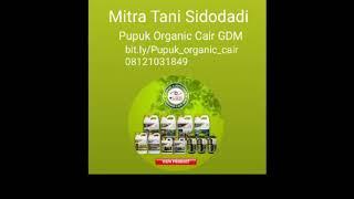 Pupuk organic cair GDM