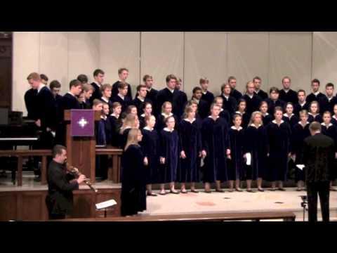 Three American Civil War Folk Songs, The Concordia Choir, Moorhead