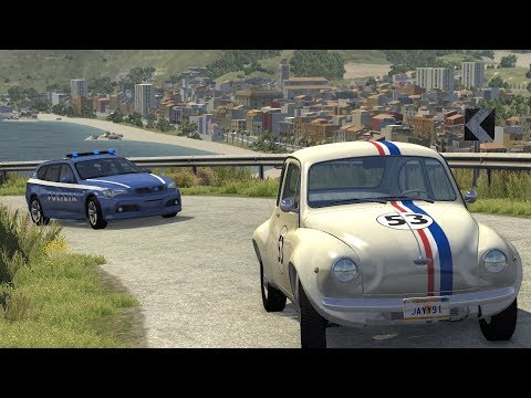 Italy Police Chases | BeamNG.drive