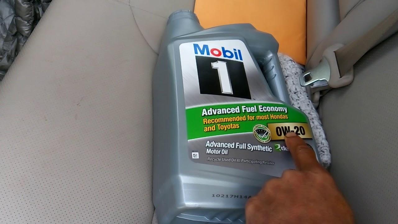 2016 Crv Oil Change