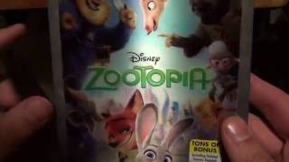 Zootopia 3D Blu-Ray Ultimate Collector
