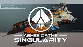 Ashes Of The Singularity - (Campaign Lets Play Ep1 Gameplay Impressions)