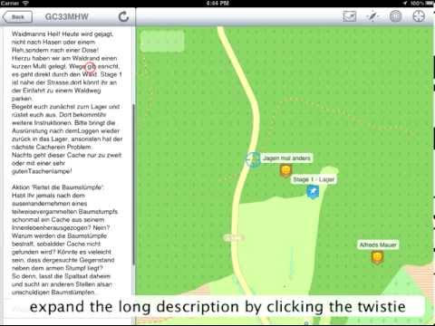 Looking4Cache - HowTo - Cache Detail View