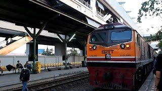 2016/12/24 Thailand: East Line Local Train at Lat Krabang   タイ 東本線 普通列車 ラートクラバン駅