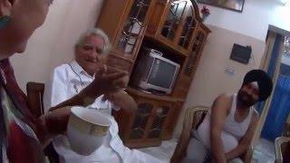 IHL272. Тётушка сикхской невесты. В гостях у её семьи. Индия.
