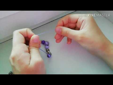 """DIY: браслет с """"BTS"""" своими руками"""