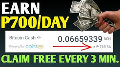 EARN P700 PER DAY | CLAIM FREE EVERY 3 MINUTES SA CELLPHONE NO ADS TAP LANG NG TAP | WITHDRAW AGAD