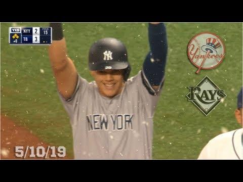 New York Yankees Highlights: vs Tampa Bay Rays   5/10/19