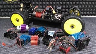 RC новачок №6 ... Охолодження мотора радіокерованого машини