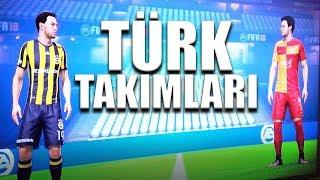 FIFA 18 TÜRK TAKIMLARIYLA OYNADIK!